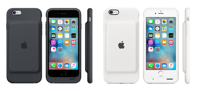 Apple初!公式のiPhone 6s用バッテリー内蔵ケースが販売開始!