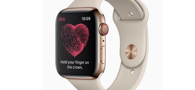 Apple Watch Series 4の心電図測定、日本ではまだ使えないことが判明
