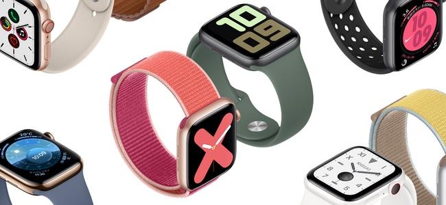 「Apple Watch Series 5」が正式に発表!待望の画面常時表示に対応!コンパスを搭載、新たにチタンモデルも登場