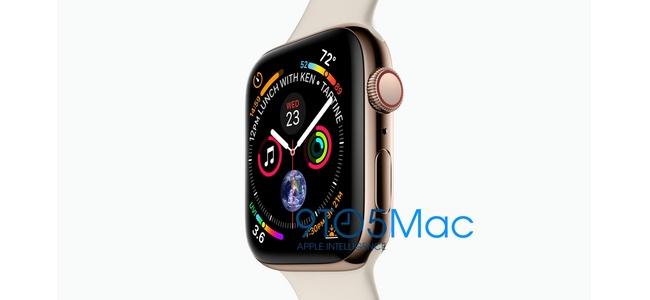 新しいApple Watch Series 4のディスプレイ解像度は384×480ピクセルか