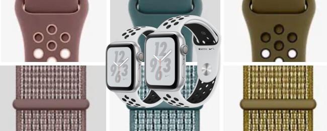 「Apple Watch Nike+」の新色バンド2タイプ各3色が発売開始!