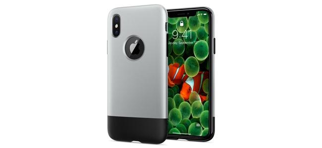 Spigenの初代iPhoneをモチーフにしたiPhone X用ケース「Classic One」が日本国内でも販売決定。Amazonで予約を開始