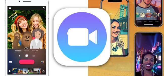 Appleのビデオクリップアプリ「Clips」が大幅にアップデート。デザインの変更を始めiPhone Xでリアルタイムに背景を合成する機能やスター・ウォーズのステッカーなども追加