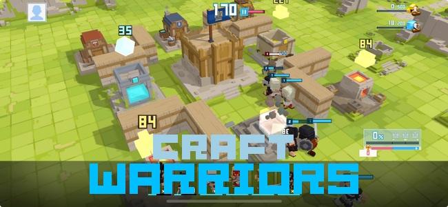 3Dのボクセルキャラを自分で作れる!のんびり街づくりメインプレイからゴリゴリの戦闘まで楽しみ方はプレイヤー次第で万人にオススメできる街作り&戦略ゲーム「Craft Warriors」