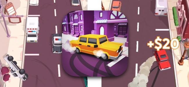 キメろ!アルティメット縦列駐車!路肩の駐車スペースにドリフトで車を滑り込ませまくるカーアクション「Drive and Park」
