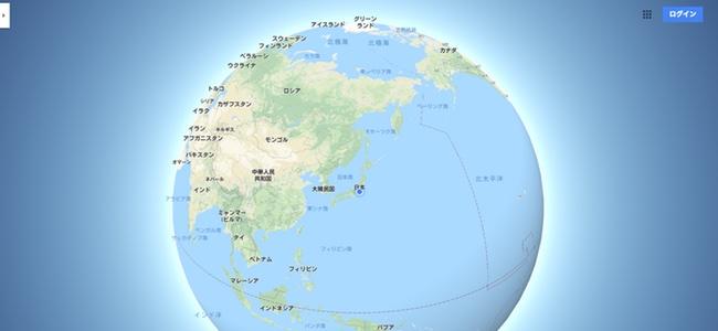 Google マップがついにメルカトル図法での掲載を止め、縮小していくと地球が球状に表示されるように