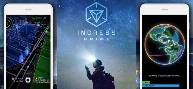 Ingressが大幅アップデートで「Ingress Prime」に!スキャナー画面などデザインが一新