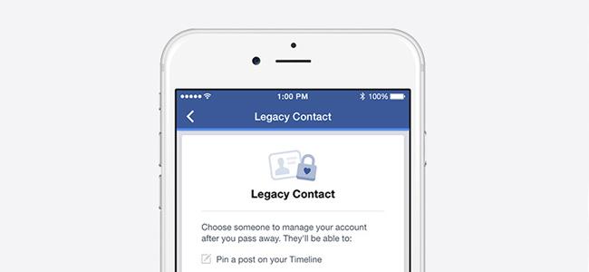 Facebook、死後のアカウントの管理者をしていできる機能「legacy contact」を発表