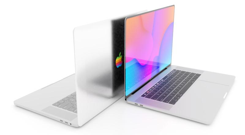 MacBook-rainbow-Apple-logo-concept