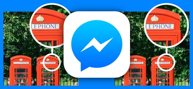 「Facebook Messenger」アプリが4K画像の送受信に対応