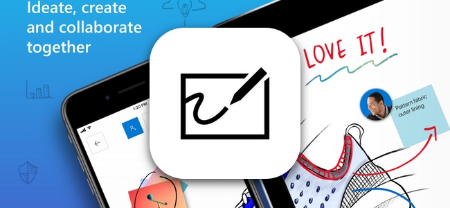 Microsoftが、複数デバイスで同時編集が可能なホワイトボードアプリ「Microsoft Whiteboard」をApp Storeで配信開始!