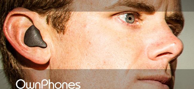 3Dプリントで自分の耳にフィットする形にカスタムメイドしてくれるBluetoothイヤホン「OwnPhones」