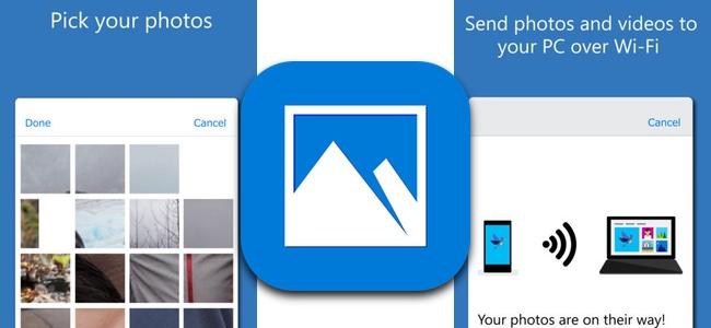 Microsoftが新アプリ「Photos Companion」をリリース。Windows 10 PCに無線で写真の転送が可能に