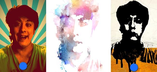 カッコいいプロフィール写真を簡単に作れる自撮り加工アプリ「Portrait by img.ly」がかなり便利