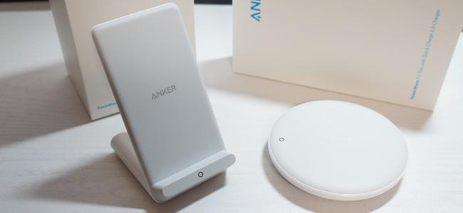 AnkerからiPhone X/8/8 Plusの7.5W急速ワイヤレス充電に対応した充電器がスタンド型とパッド型2タイプで発売開始!