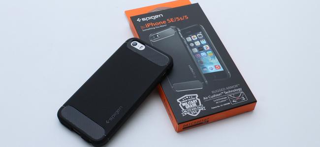 手軽かつスタイリッシュにiPhone SEを衝撃から守ってくれるケース「 iPhone SE ラギッド・アーマー」レビュー
