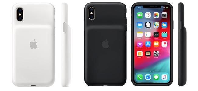 Appleがワイヤレス充電にも対応したiPhone XS/XS Max/XR用の公式バッテリー内蔵ケース「Smart Battery Case」を発売開始