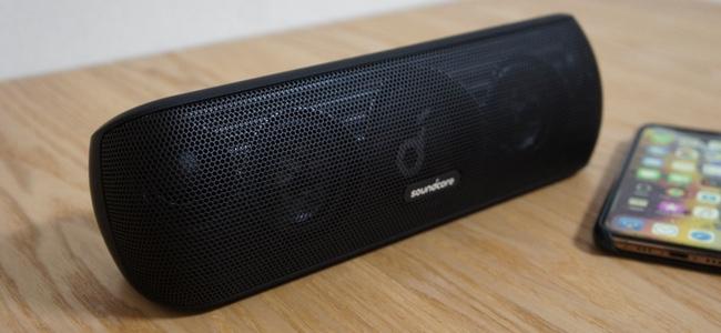AnkerからaptX&ハイレゾ対応で高音質、IPX7防水対応に30W大出力とBluetoothスピーカーの本命といえる「Soundcore Motion+」が発売開始