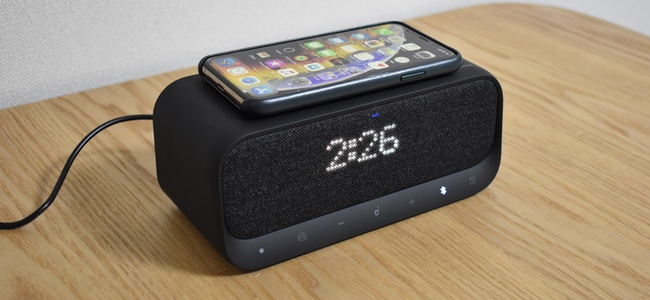 スピーカー、時計、そしてワイヤレス充電器、三位一体の欲張りデバイス「Soundcore Wakey」がAnkerより発売開始!