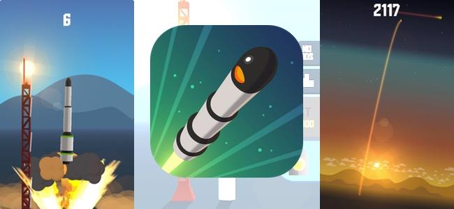 一瞬でも気を抜けばロケットがボンッ!切り離しタイミングに合わせてタップしてロケットを高く飛ばす集中力以外ないシンプルゲーム「Space Frontier」レビュー