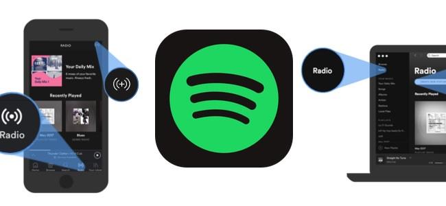 Spotifyがユーザーに合った音楽を自動的に選曲してくれる機能「Spotify Radio」を開始