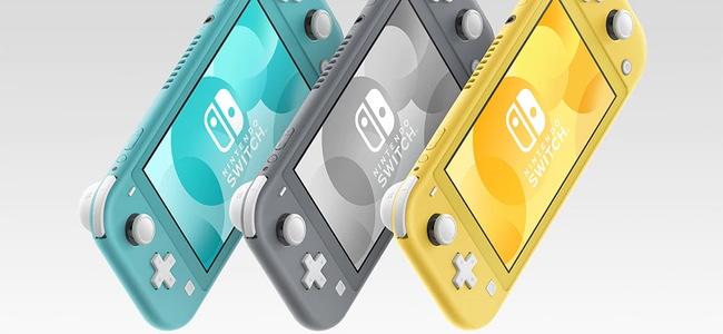 「Nintendo Switch Lite」が発表!携帯モード専用としてサイズを小さくし、Joy-Conの取り外しやテレビ出力、HD振動などを省いた機能縮小版。9月20日発売で19980円