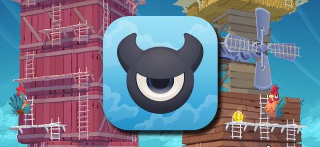 タワーを回してはしごを繋げ!道の確保と敵の排除両立のせわしなさが癖になるパズルゲーム「Twisty Sky」