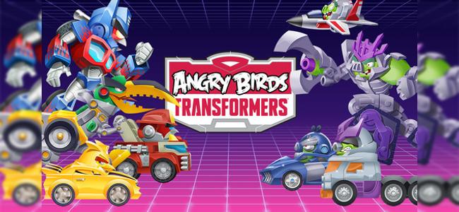 奴らの破壊を許すな!サイバトロバード出動せよ!シューティングアクション「Angry Birds Transformers」