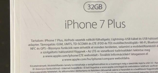 iPhone 7 Plusには無線イヤホン「AirPods」が同梱される?パッケージのリーク画像に記載が見つかる