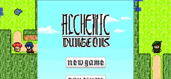 アイテムを素材から作り出せ!クラフトも楽しめるローグライクゲーム「Alchemic Dungeons」