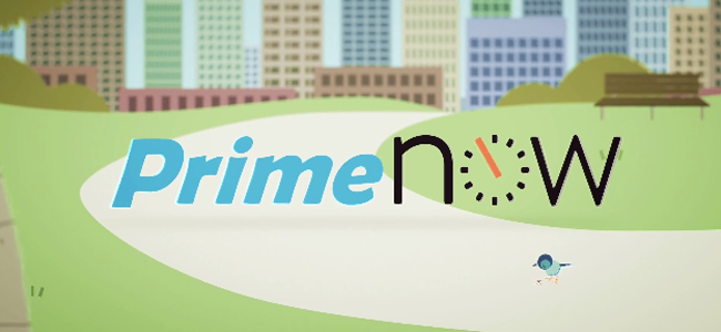 ポチって1時間で商品が届く!Amazonが度肝を抜くようなサービス「Prime Now」NYでスタート