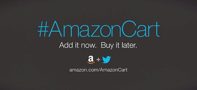 Twitterから商品を買い物かごへ追加できる「#AmazonCart」でAmazonライフがはかどりそう