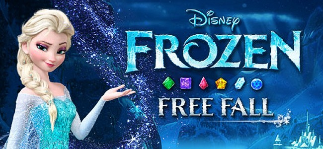 劇中そのままのアナとエルサが動きまくる!歯応えパズルゲーム「アナと雪の女王: Free Fall」