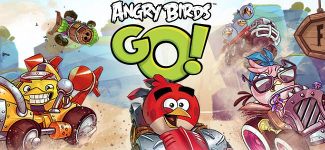 え?アクセルもブレーキもないの!?「Angry Birds Go!」は子供から大人まで楽しめるカーレースゲームだ!