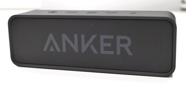 24時間連続再生可能!Ankerからコンパクトなのに音も電池もパワフルなポータブルスピーカー「Anker SoundCore」が発売!