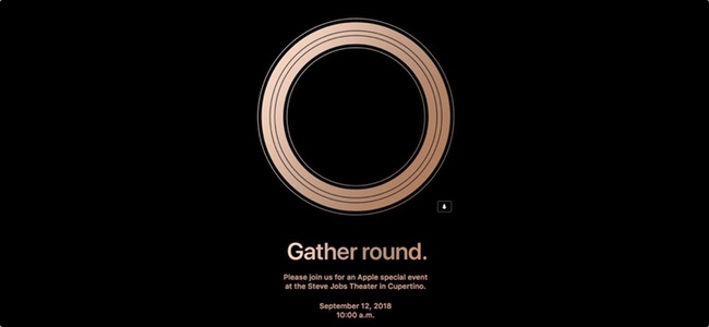 Appleがスペシャルイベント開催を告知!新iPhone発表へ。日時は2018年9月12日10時(日本時間13日2時)から!