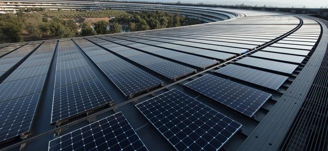 Appleが世界各地にある自社施設が100%再生可能クリーンエネルギーで電力を賄っていることを発表