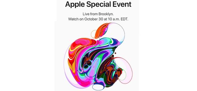 Appleがスペシャルイベントを10月30日に開催!メディアに招待状を配布開始。何故かAppleロゴのイラストパターンが大量に!