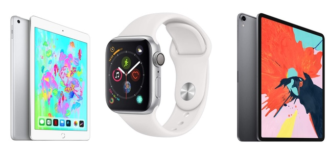 Amazonにて「Apple Watch Series 4」「iPad Pro」「iPad」が最大10%OFFで販売中