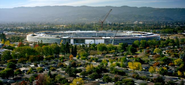 Appleの宇宙船こと新社屋「Apple Park」が社員向けに4月にオープンすることを発表