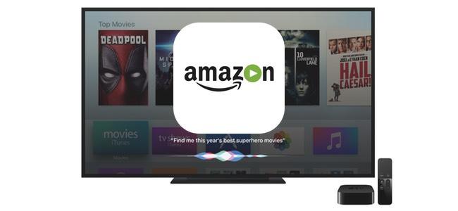 「Amazonプライム・ビデオ」アプリがApple TV向けに配信開始