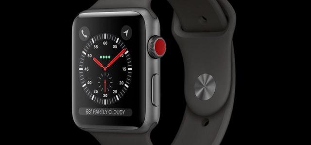 iOS 11 GM版よりLTE対応Apple Watchの詳細が明らかに。単体で電話が可能で電話番号はiPhoneと共通。デザインの大幅な変更はない模様