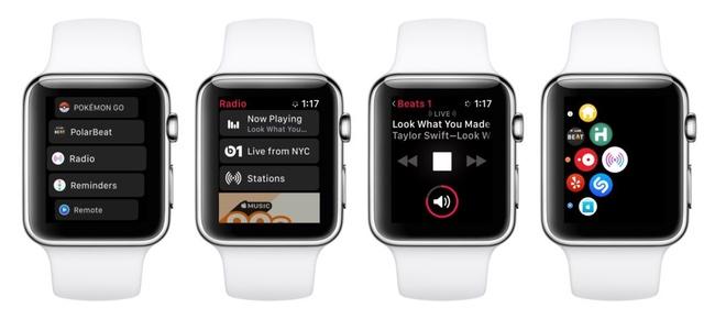 次期watchOS 4.1には「ラジオ」アプリが搭載、Beats 1やApple Musicのラジオ機能を直接利用が可能。本日リリースのベータ版より判明