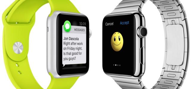 Apple初の時計型ウェアラブルデバイス「Apple Watch」!素材の異なる3タイプやiPhoneとの連携機能など、注目ポイントまとめ