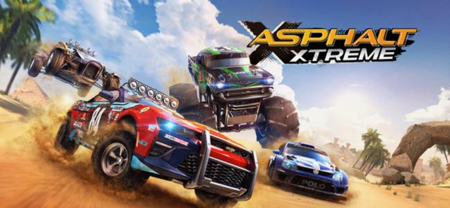 オフロードなコースで華麗に決めろ!エキサイティングなレースゲーム!「アスファルト:Xtreme」
