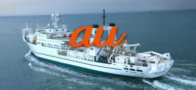 KDDIが北海道の地震に伴い日本初「船舶型基地局」の運用を開始