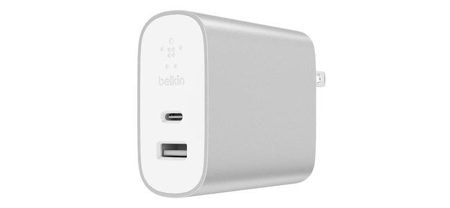 BelkinがUSB-CとA両方で高速な充電ができるアダプタ「BOOST↑CHARGE USB充電器(27W USB-C™ + 12W USB-A)」を6月28日より発売開始