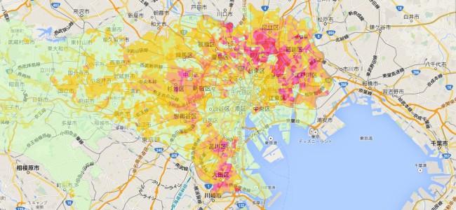 これは便利。災害時の避難所や給水拠点など、東京のあらゆる防災情報をチェックできる「Google 防災マップ」