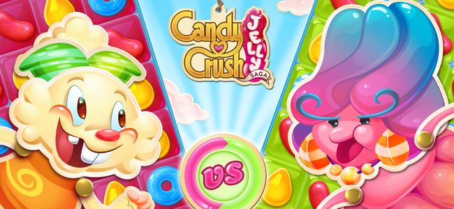 キャンディクラッシュ三作目は対戦がムズくて熱い!陣取りバトルの戦略性が新しい「Candy Crush Jelly Saga」