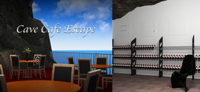 洞窟にある隠れ家的おしゃれなカフェから脱出せよ!「脱出ゲーム Cave Cafe Escape」